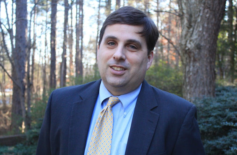 Andrew Moretz is a new lobbyist for UNC. He is VP of State Government Relations at University of North Carolina General Administration.