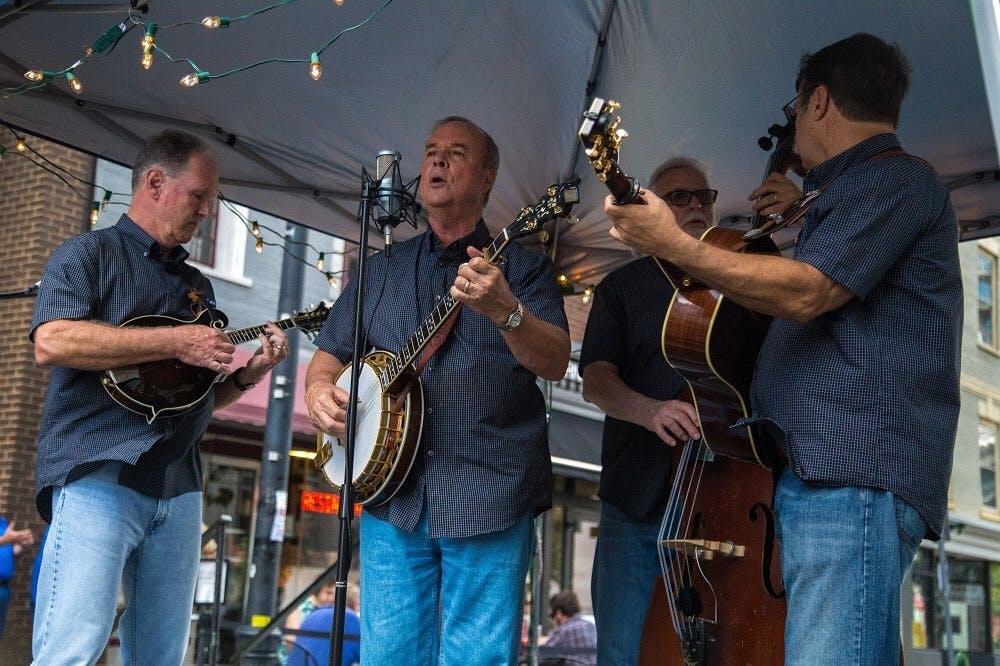 Bluegrass festival in our own backyard