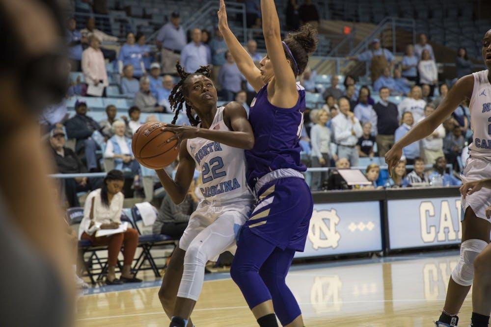 UNC women's basketball handles Western Carolina in season opener, 92-55