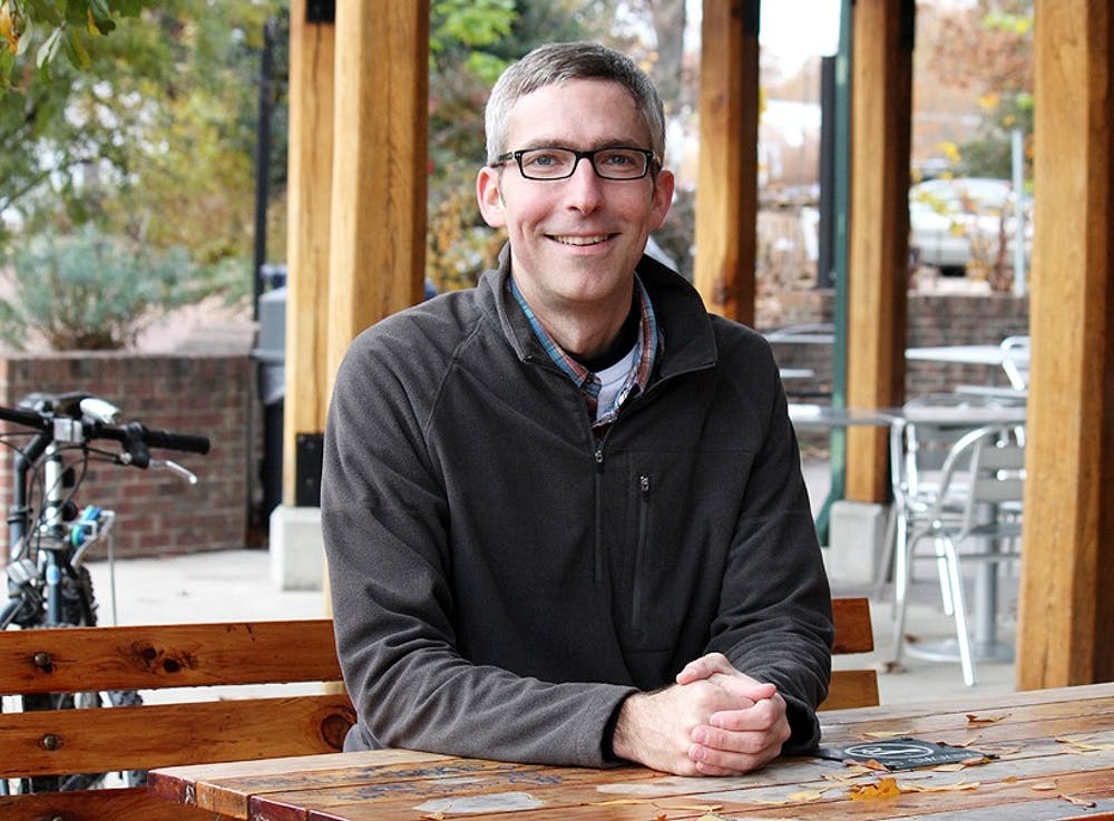 Carrboro Board of Aldermen member Damon Seils seeks re-election