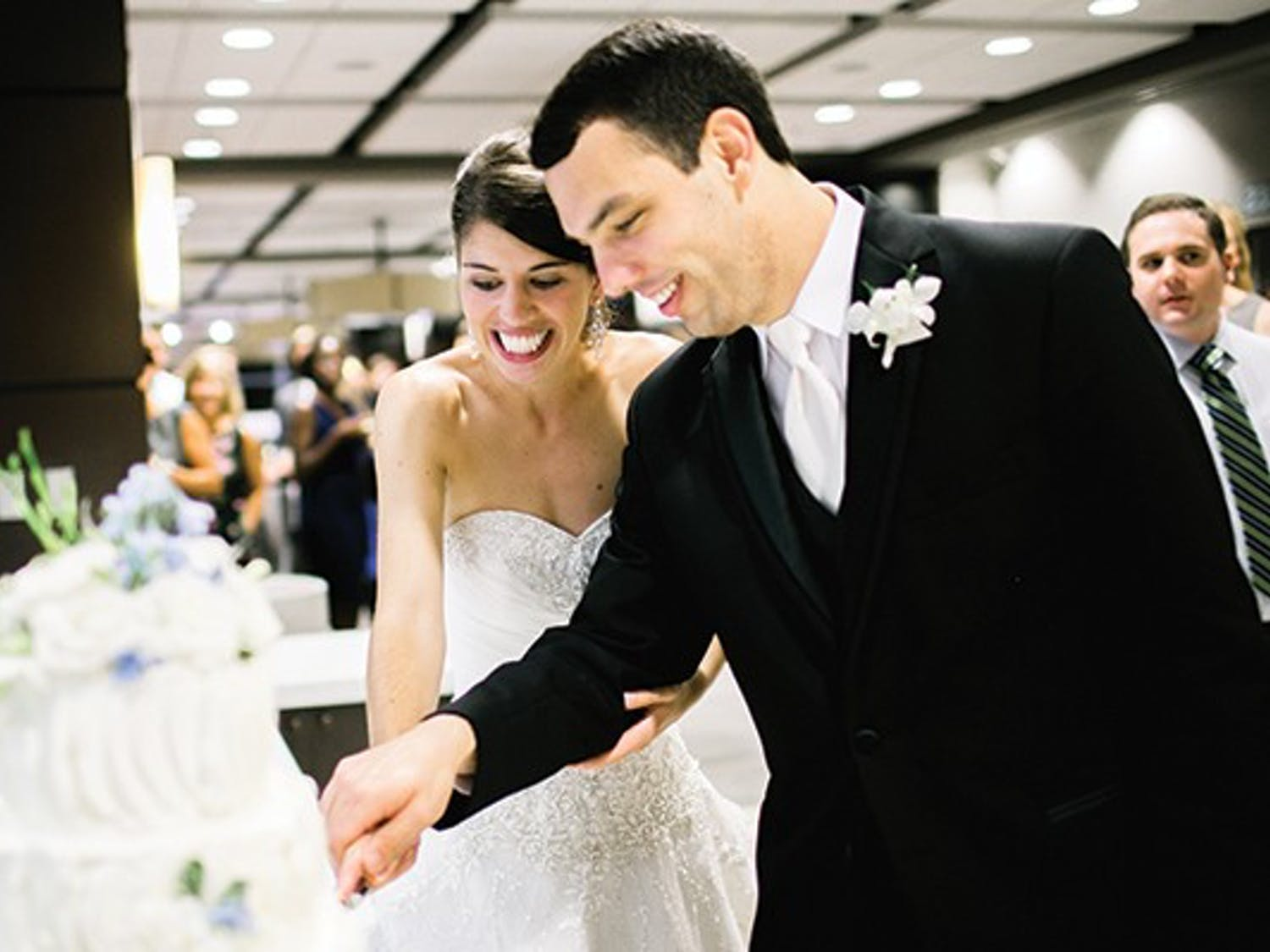 Shannon and Bryan Weynand got married in the Blue Zone in 2013.