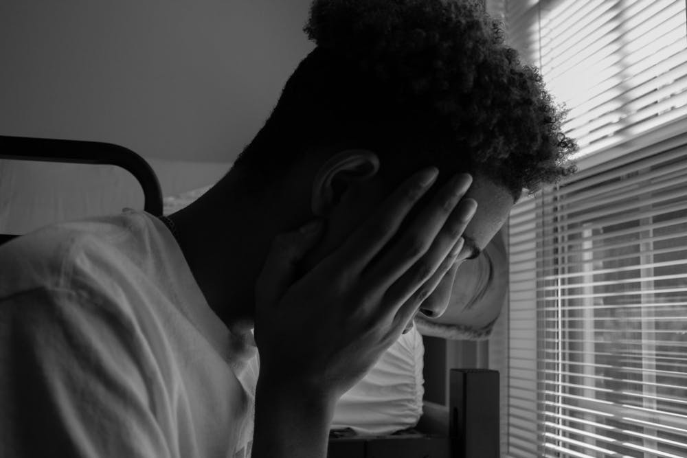 DTH Photo Illustration. Social media trends circulate awareness of seasonal mental health problems.