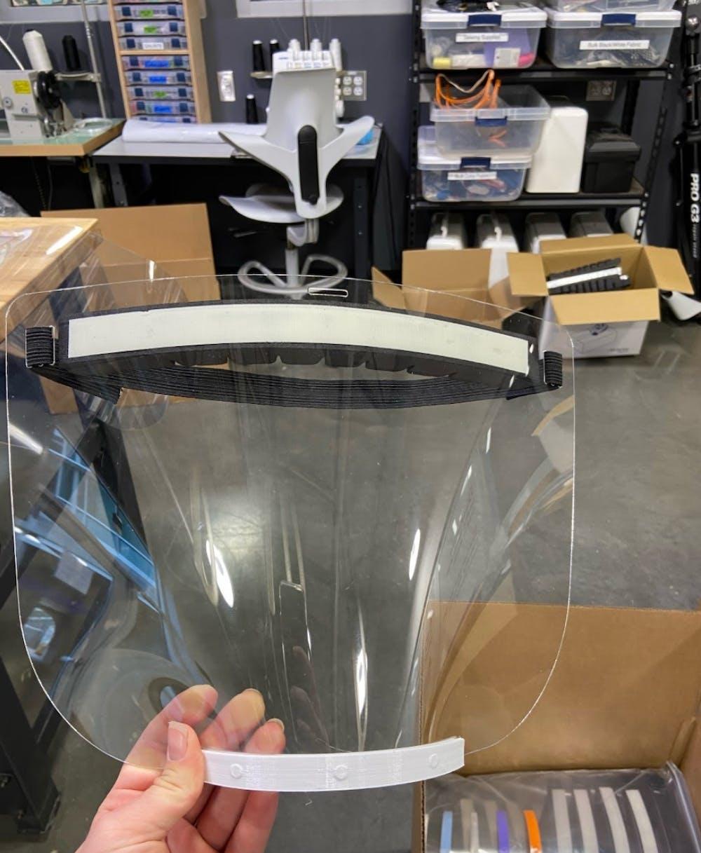 design for homemade face shields