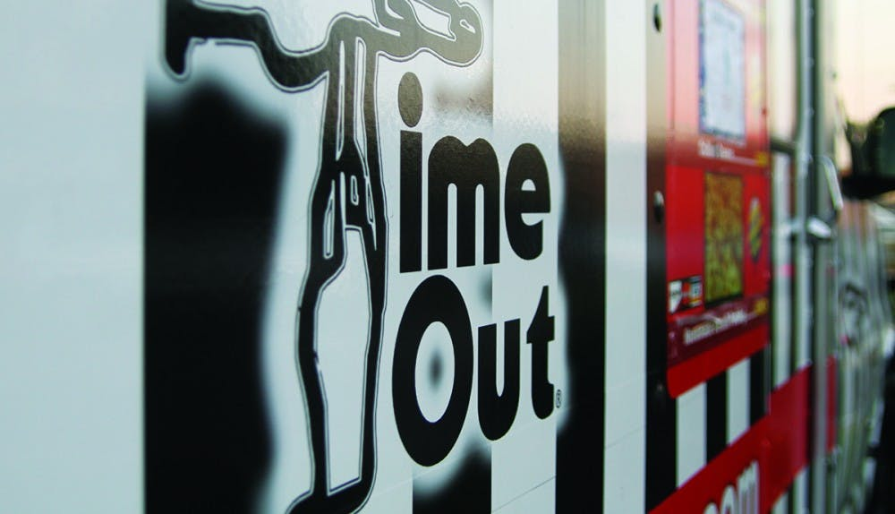 <p>Time Out now has a food truck that travels between the two restaurant locations.</p>
