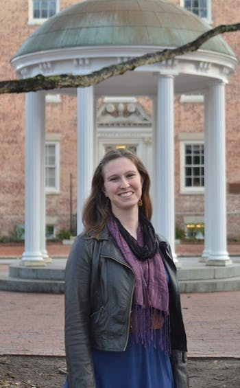 2-5 - Anna Barson - UNC Music major Anna Barson created a petition on change.org to include a college student on the White House Task Force to Protect Students from Sexual Assault. The deadline for the petition to reach 100,000 signatures is March 1st.