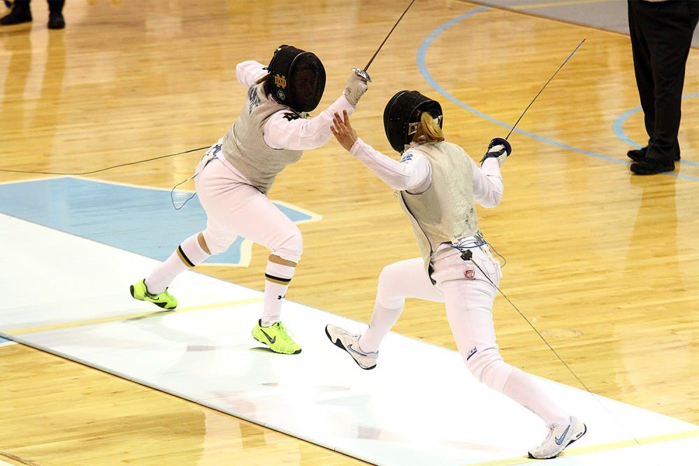 Fencer Gill Litynski claims inaugural ACC title