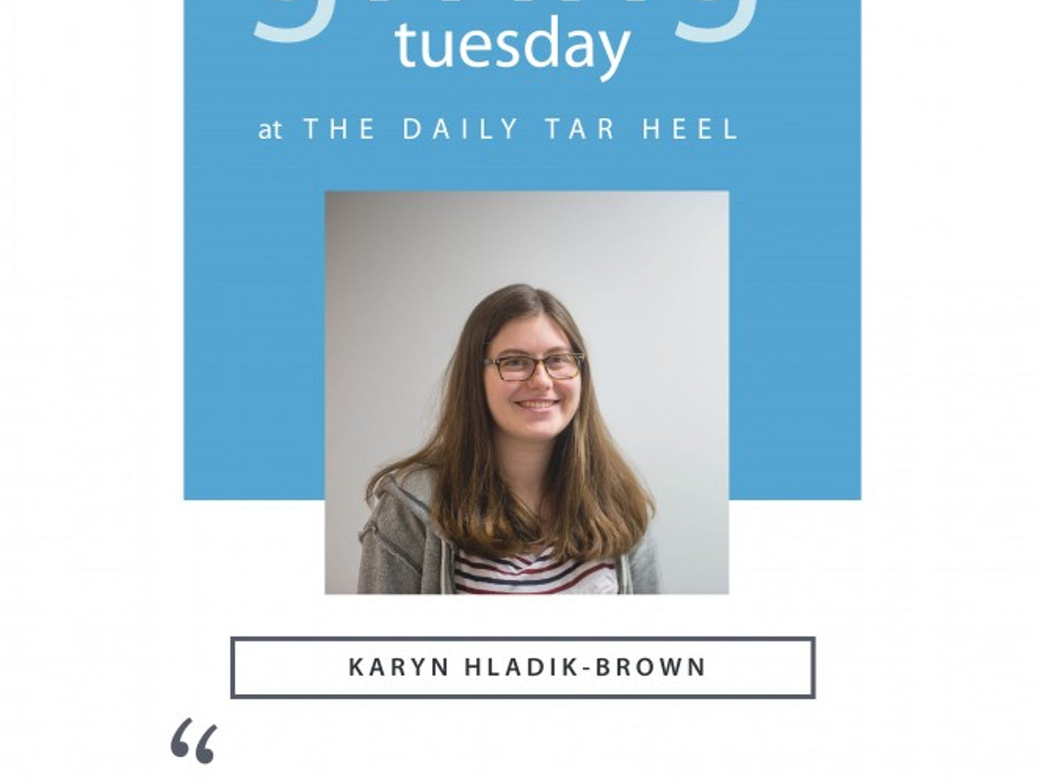 In honor of #GivingTuesday, the staff of The Daily Tar Heel is discussing the things that make the newsroom special. Read their stories here, and donate to the DTH at friends.dailytarheel.com.