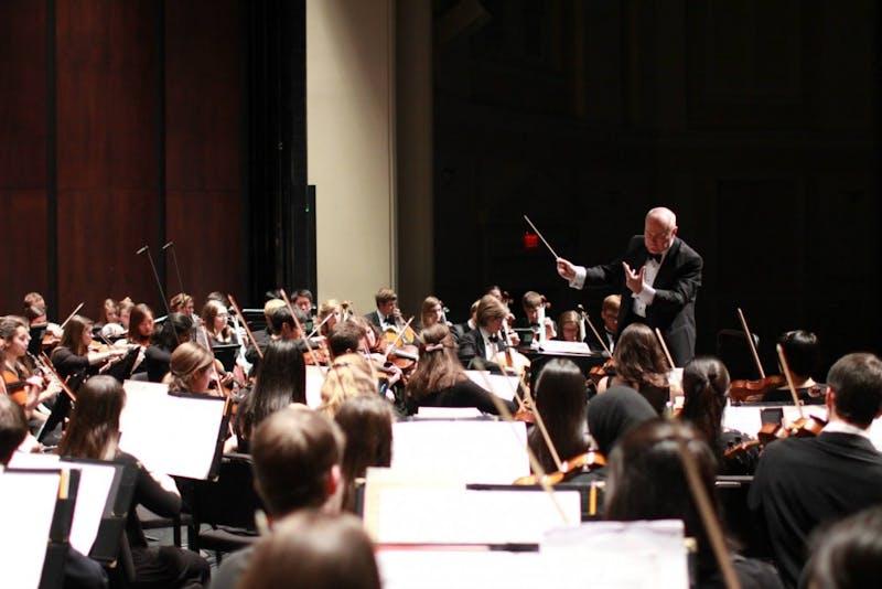 Tonu Kalam is the conductor of the UNC Symphony Orchestra. Photo courtesy of Tõnu Kalam.