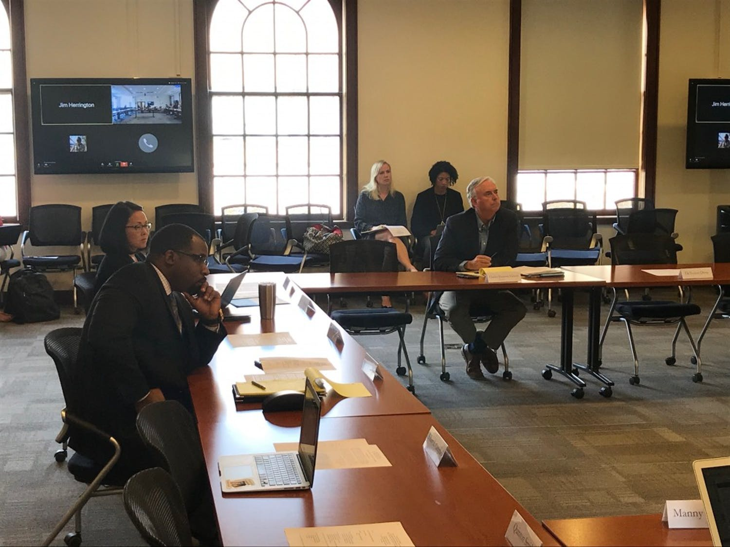 The Campus Safety Commission met on Wednesday to speak about previous listening sessions.