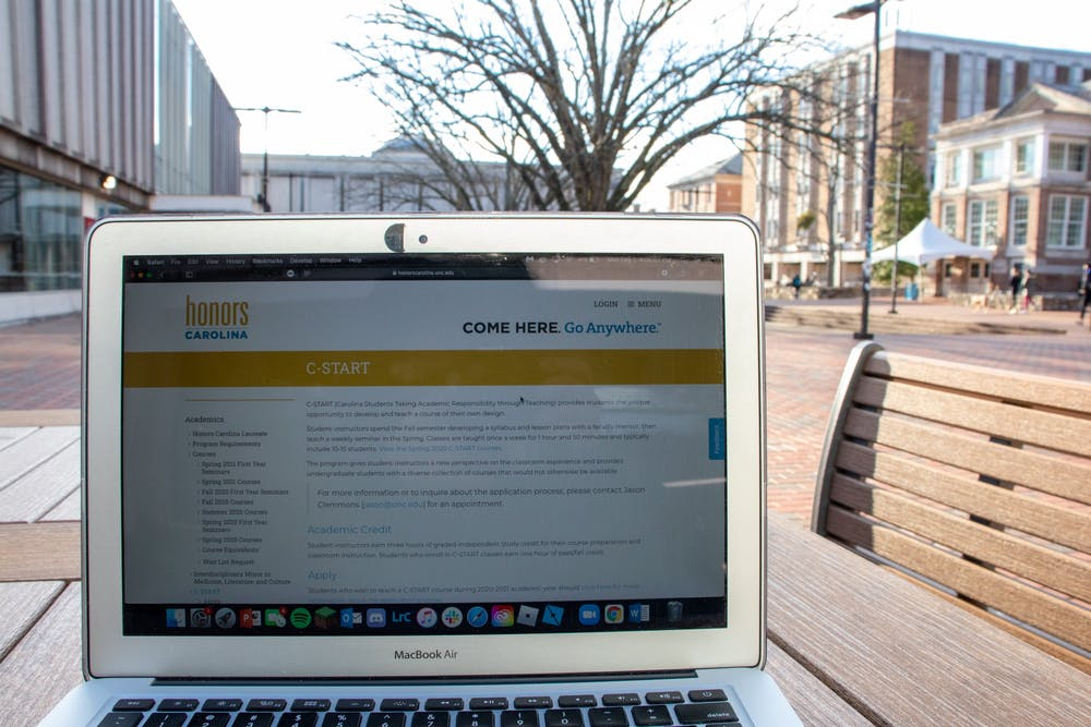 C-START allows undergraduate students at UNC to design and teach a class of their choosing.