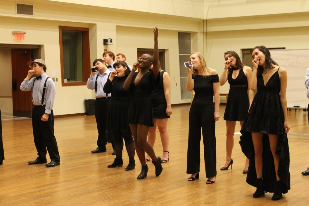 Hark the sound of ICCA quarterfinals with the Tar Heel Voices