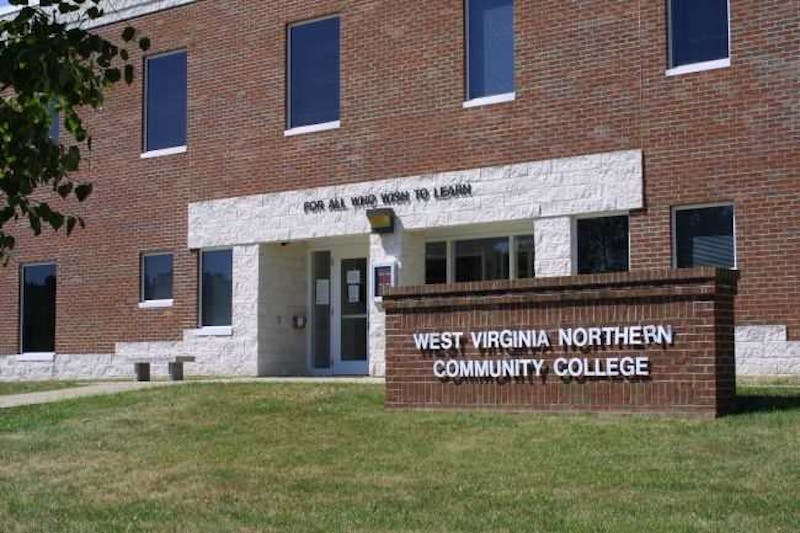 The Wheeling, WV campus of West Virginia Northern Community College, part of the Community and Technical College System of West Virginia.Photo courtesy of WVNCC.