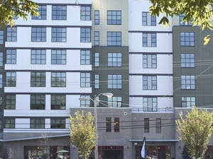 The Shortbread Lofts at 333 W Rosemary St.
