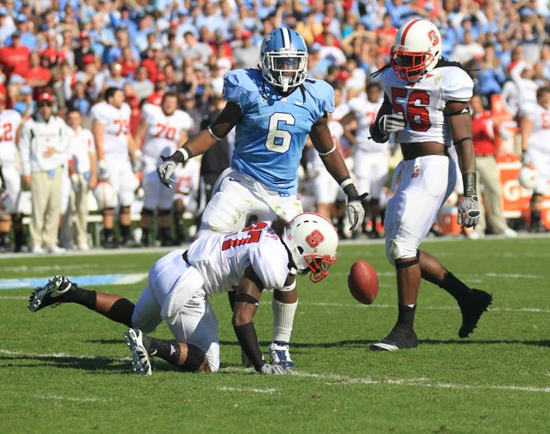 The Wolfpack of North Carolina State University defeated UNC 29-25 on Saturday, November 20 at Kenan Stadium.