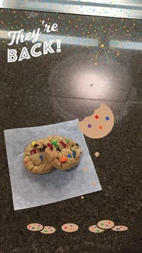 Carolina Dining Services has returned to the original recipe for their M&M cookies.