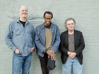 Jazz artist Matthew Shipp, center,  performs on March 29 in the Hill Hall auditorium.  Photo courtesy of Karina Soni.