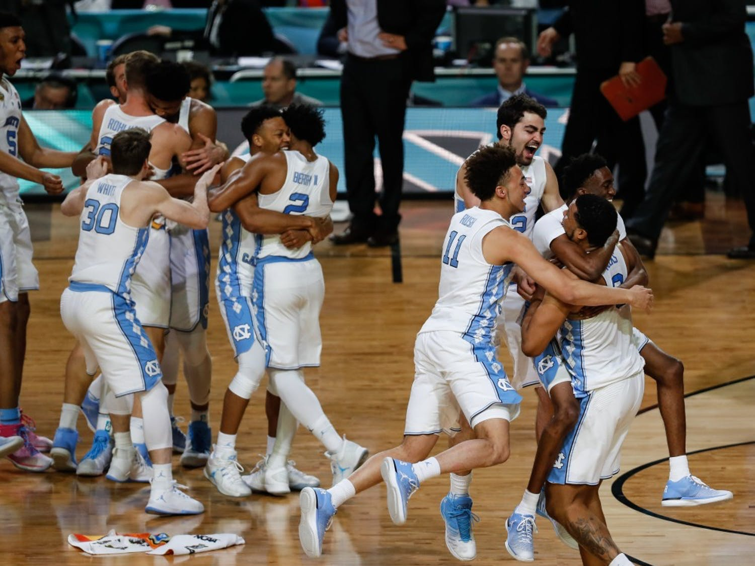 The North Carolina men's basketball defeated Gonzaga 71-65 in the NCAA National Championship to claim the title only a year after losing to Villanova in the title game.