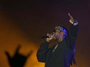2 Chainz performed at Carmichael Arena on Saturday for CUAB's Spring Jubilee.