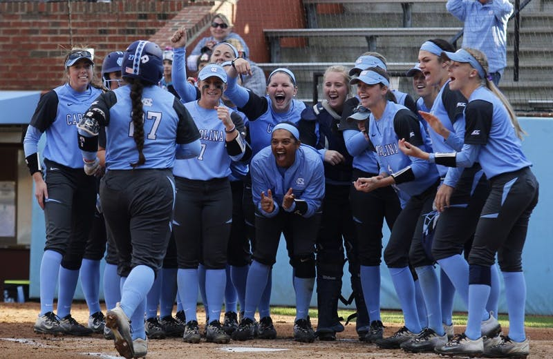 The UNC softball team played Elon Wednesday afternoon.