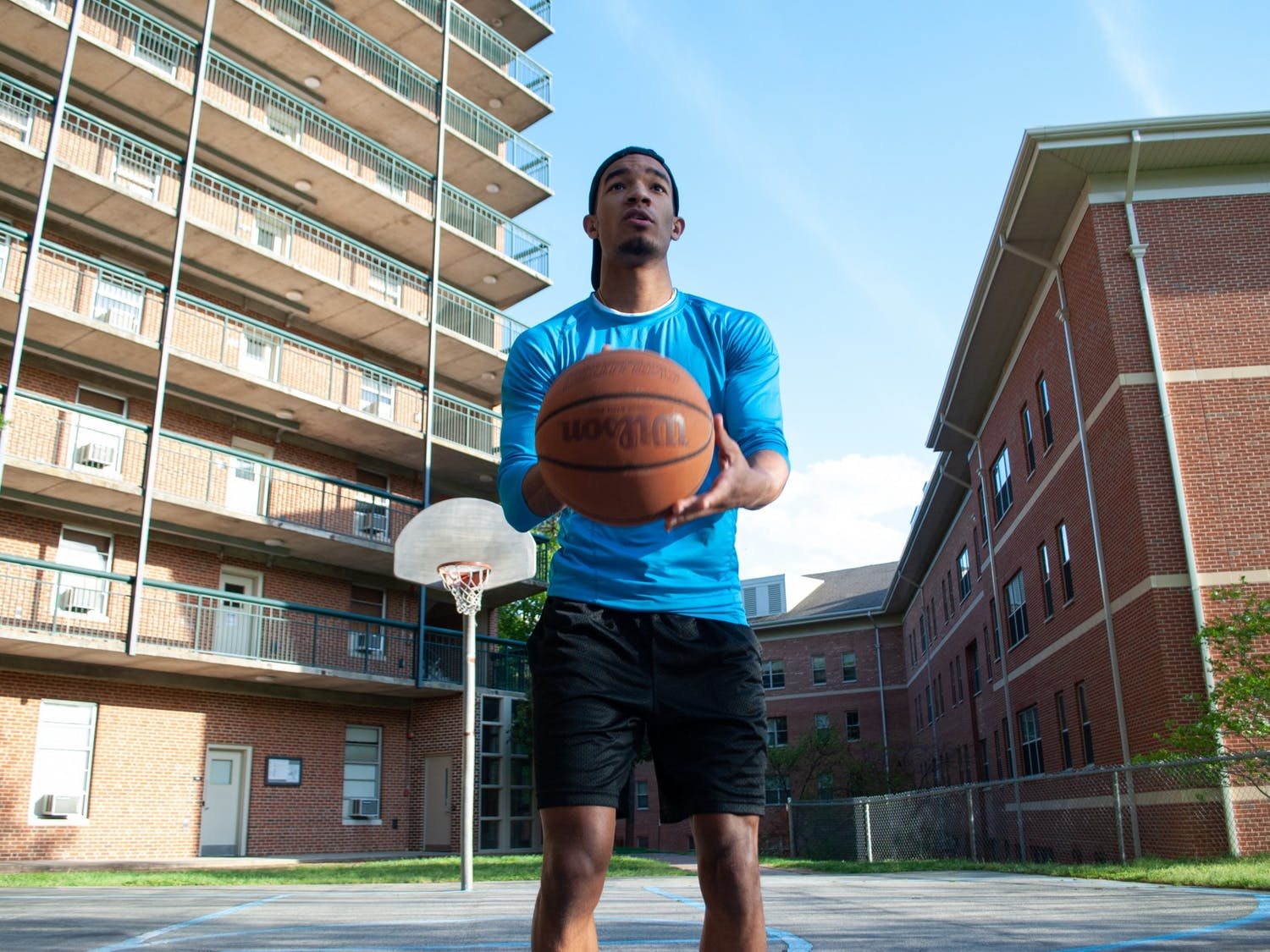 """Students have a lot to say about the hiring of Hubert Davis as the new head coach of the men's basketball team. First year biology major Tre Thorne comments, """"I think it's great to have an authority figure of color. Would've been cool if it was Michael Jordan though."""""""