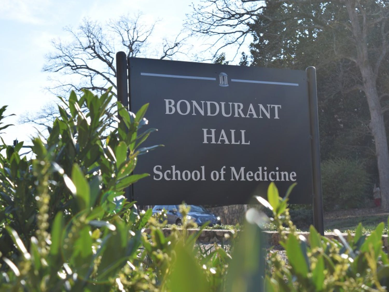 Bondurant Hall is home to UNC's School of Medicine located on South Columbia St.  UNC medical students were matched with their residency programs on Friday, March 15, 2019.