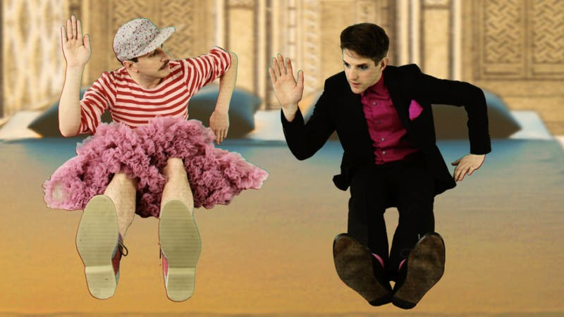 Art-pop duo Princess will be performing at 21c Museum and Hotel Durham on Sept. 28. Photo courtesy of Alexis Gideon.