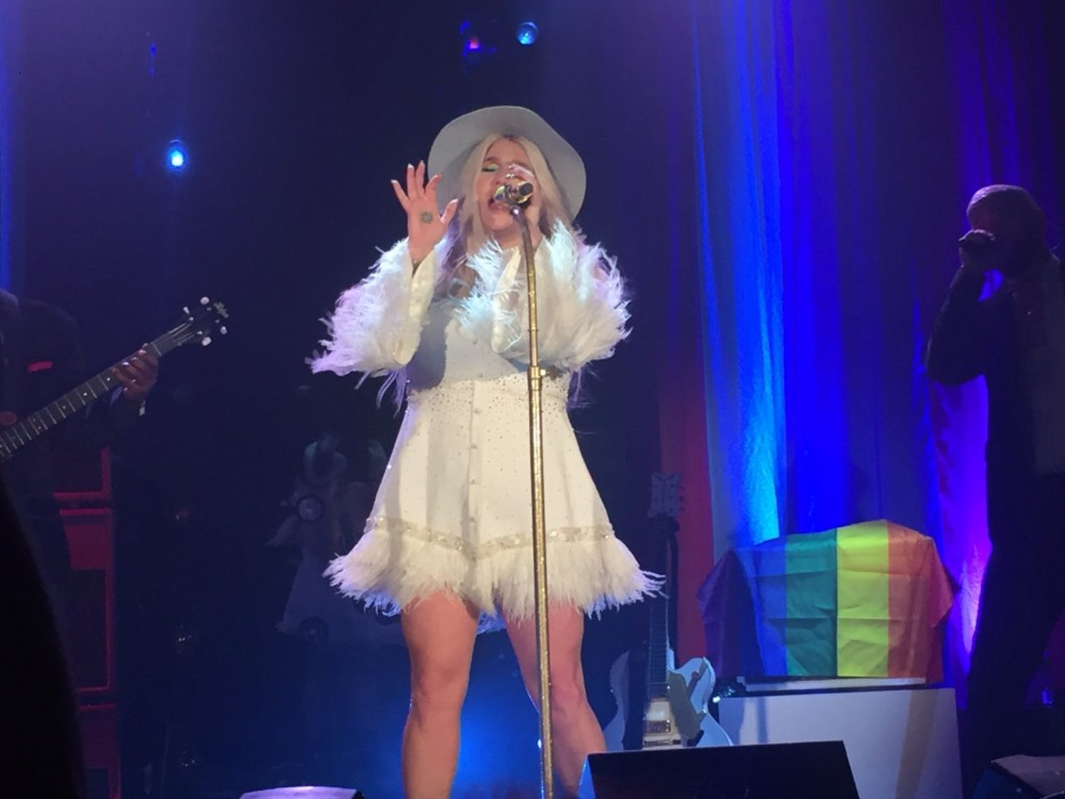 Kesha performed at the Ritz Raleigh Monday night.