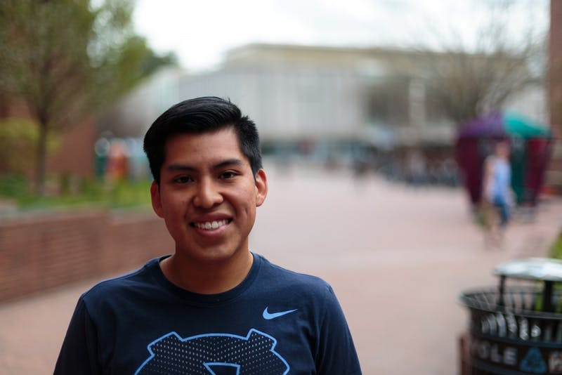 Senior sport administration major Steve Palacios is the director of development for Pupusas for Education.