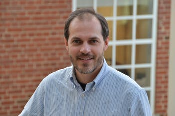 Jason West, UNC envrionmental science and engineering professor. Photo courtesy of West.