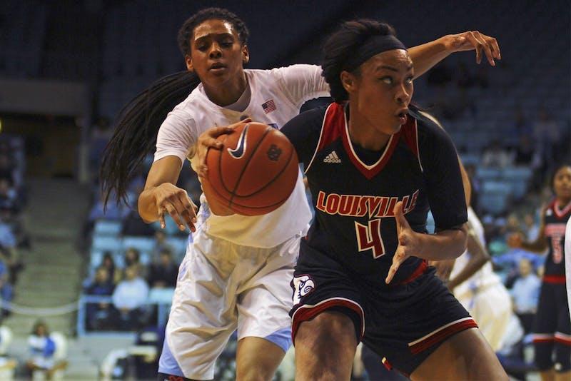 The women's basketball team lost 60-78 to Louisville Thursday night, Feb. 4.
