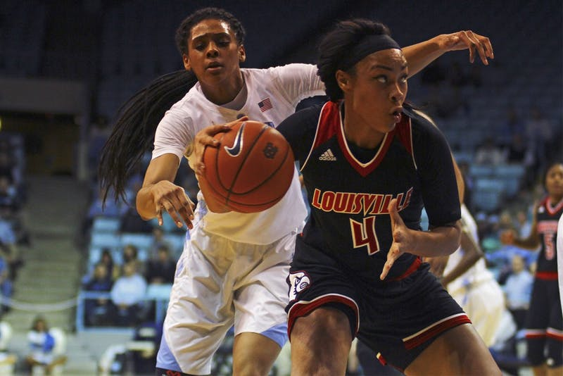 The North Carolina women's basketball team fell to Louisville 78-60 on Thursday.