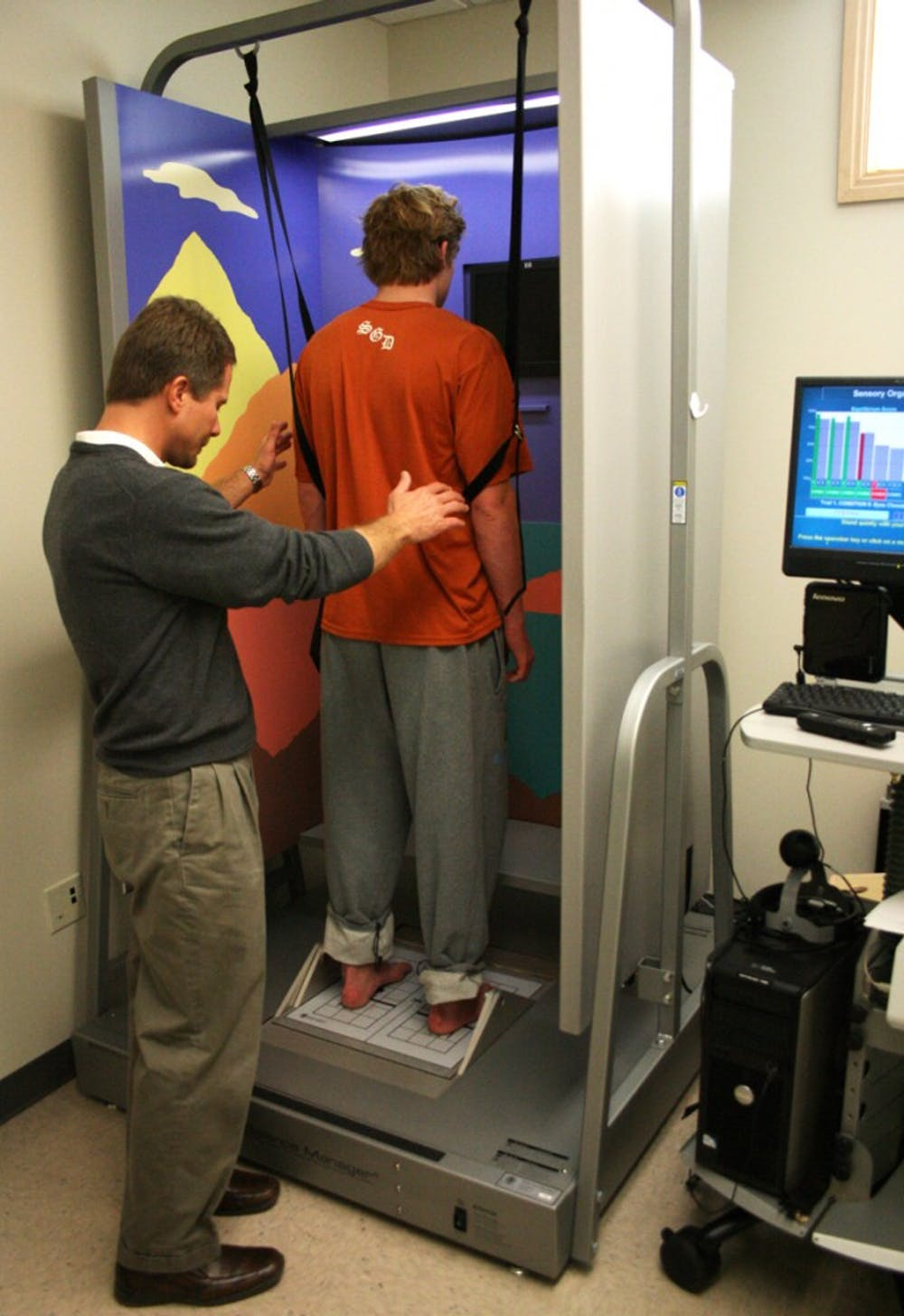 UNC's Guskiewicz a leader in concussion research