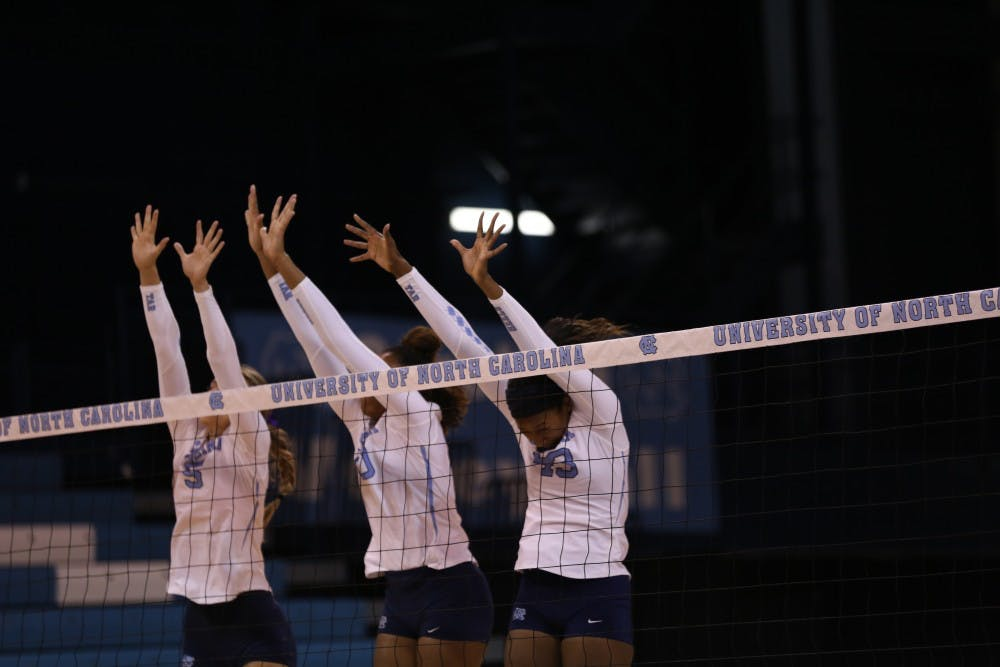 Season preview: Stars Leath and Scoles return for North Carolina volleyball