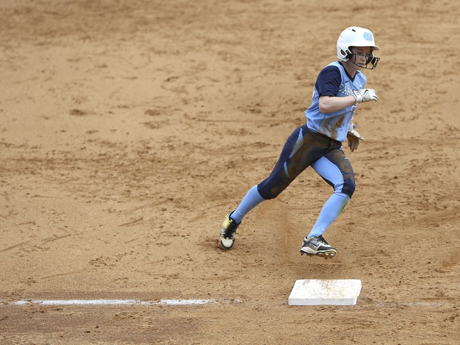 UNC's softball team took on FSU Saturday afternoon to start a double header at Anderson Softball Stadium.
