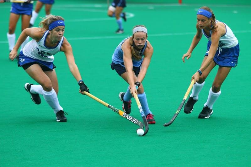 UNC field hockey defeats Duke 3-2