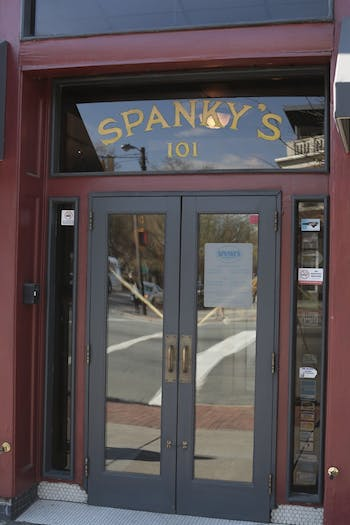 Spanky's will close March 31.