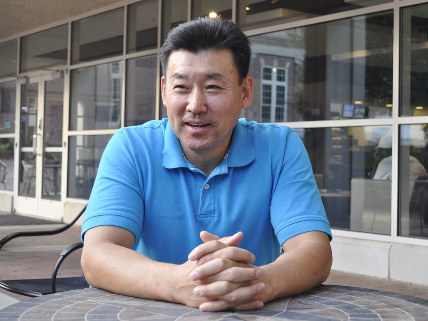 Augustus Cho will run for a seat in the Town Council.