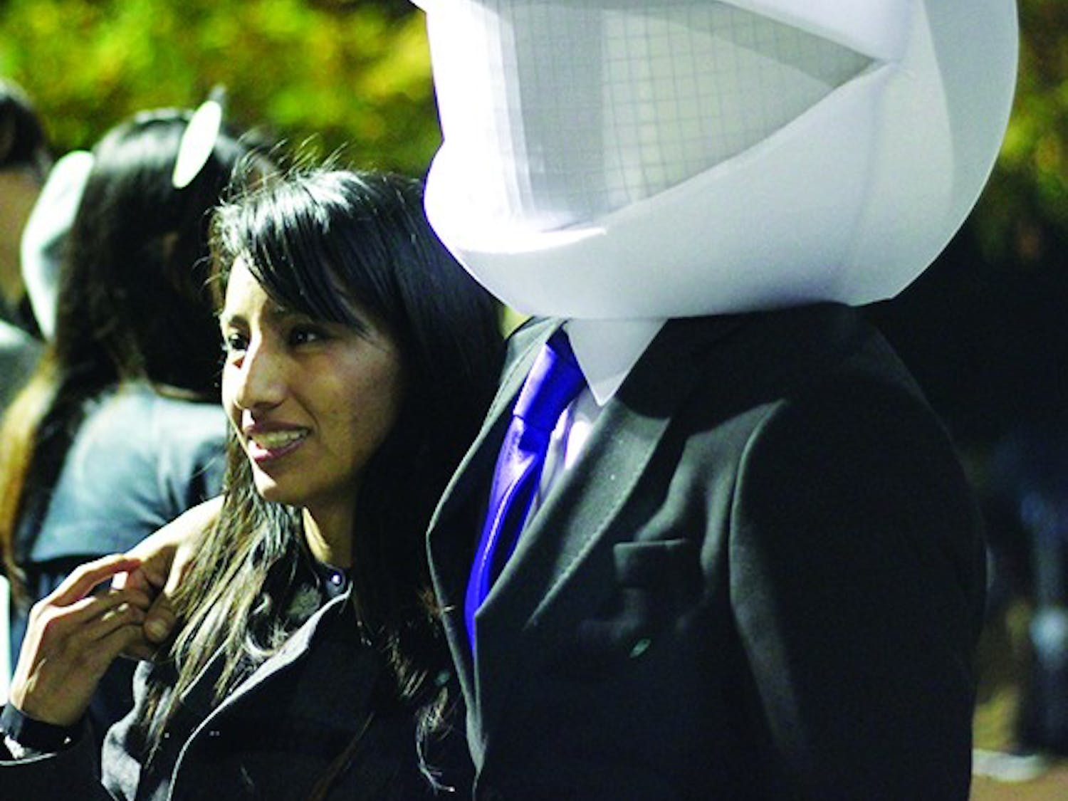 """Revelers swarmed the street October 31st to celebrate Halloween on Franklin Street. Around 300 officers were present to make sure the the fifth year of """"Homegrown Halloween"""" went off without a hitch in downtown Chapel Hill."""