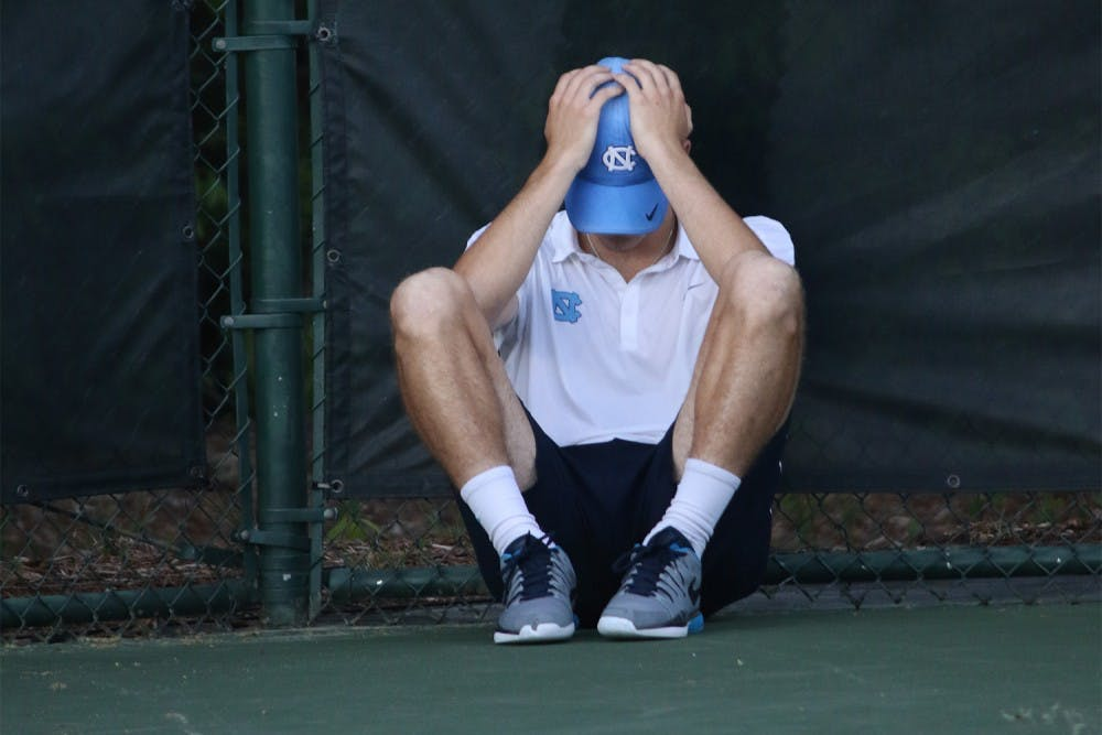UNC men's tennis squanders lead against Virginia in ACC Tournament semifinals