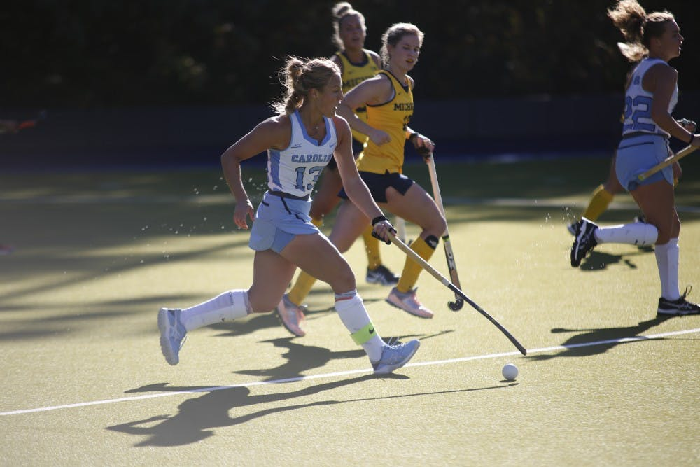 UNC field hockey beats Michigan for second time, advances to 10th straight Final Four