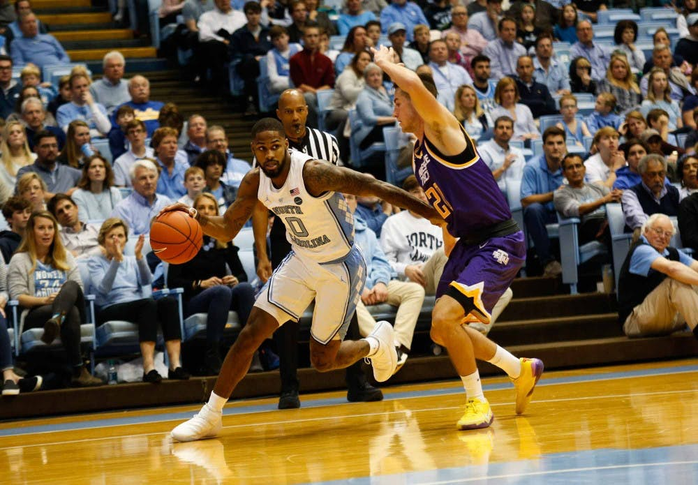 Former UNC guard Seventh Woods to transfer to South Carolina