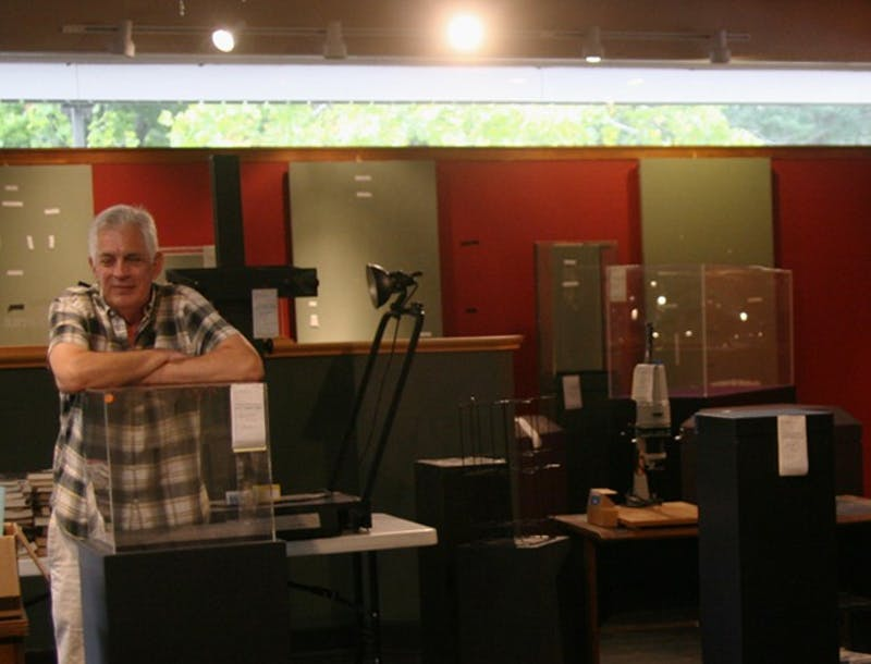 Stephen Rich, treasurer of Chapel Hill Museum's, sold items from the museum to cover closing costs in October. The museum closed in June.
