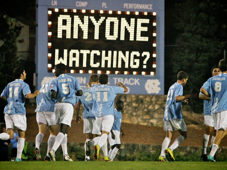Men's Soccer against Radford