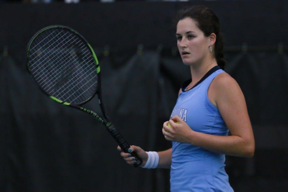 Q&A with UNC tennis standout Jamie Loeb