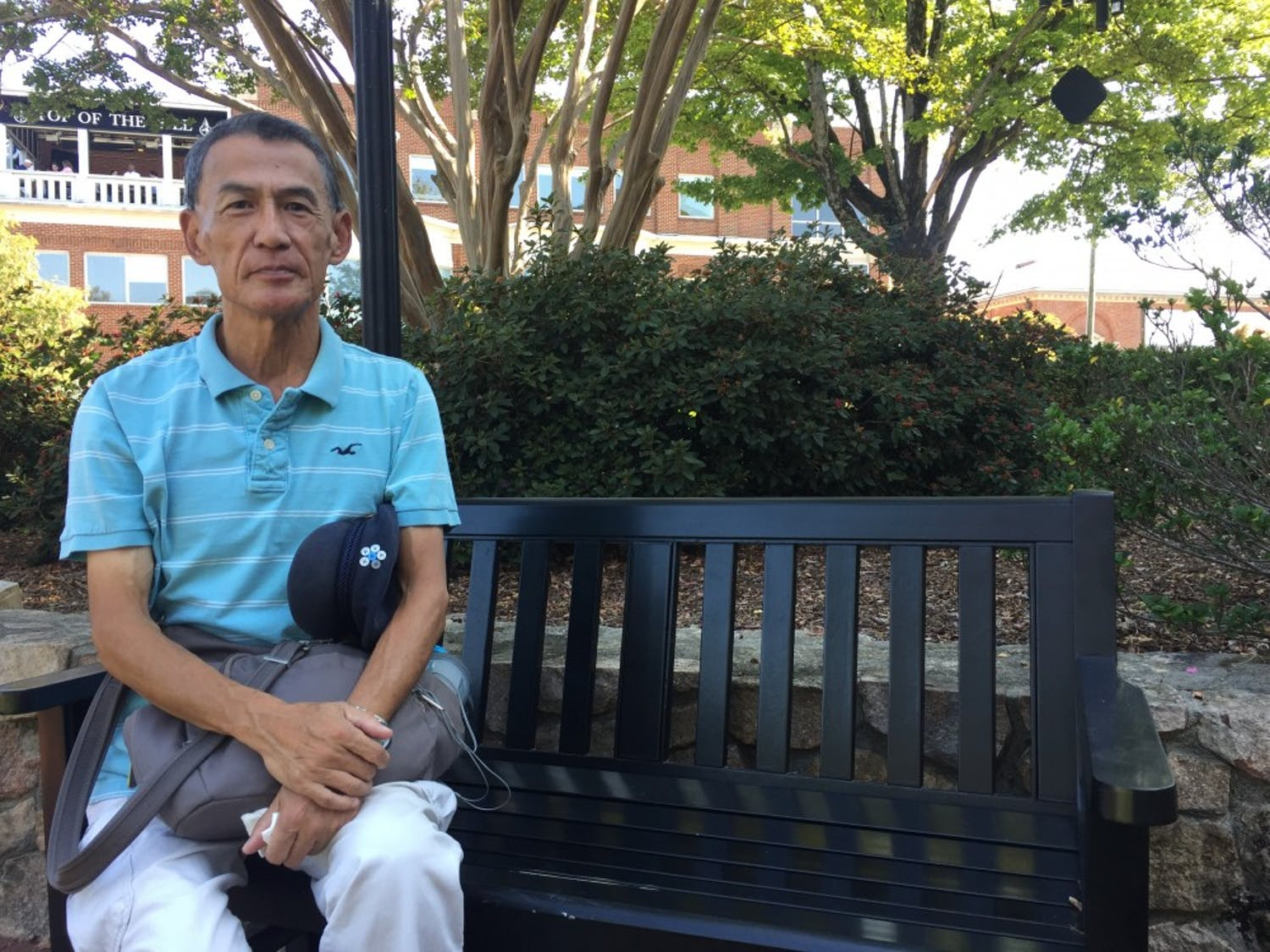 "Gregory Cheng, UNC's ""campus whistler,"" was trespassed from campus on Tuesday, Sept. 17, 2019."
