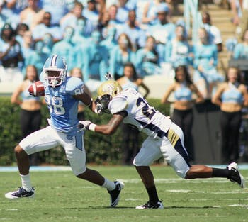 Erik Highsmith and the UNC wide receivers will have to face Rutgers' safety Joe Lefeged on Saturday. Lefeged is a playmaker across the field and received the defensive back of the week award last week.