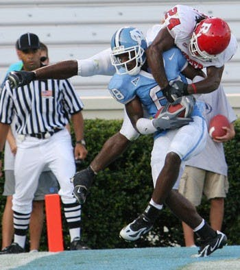 North Carolina sophomore safety Deunta Williams couldn?t contain his excitement.
