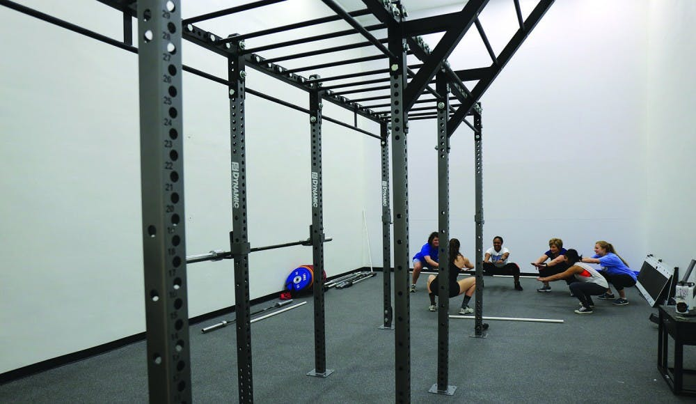 Campus Recreation opens new specialized training center