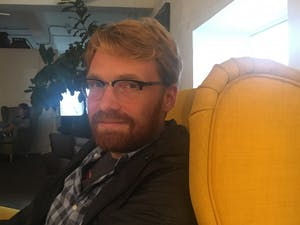 """Scott Jacobson, UNC alum, is a writer for """"Bob's Burgers"""" and has won multiple Emmys for his comedy writing. Photo courtesy of Scott Jacobson."""