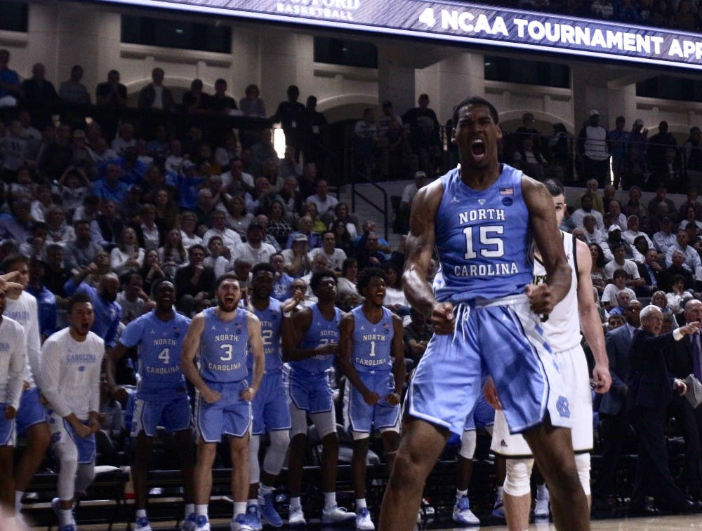 No. 15 UNC shows progress, takes care of ball in 85-60 win over Pittsburgh
